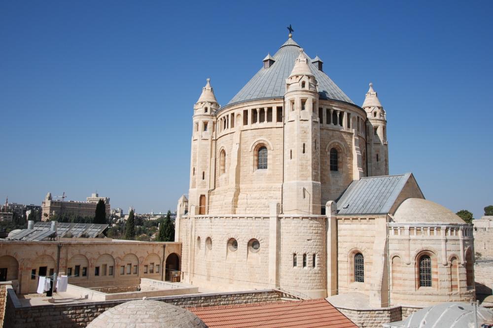 58. Śladami Chrystusa w Jerozolimie, cz.II.Syjon, Wzgórze Oliwne, Dolina Cedronu i Getsemani. (1/6)