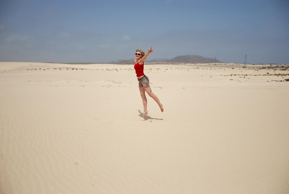 77. Najpiękniejsze złote plaże Wysp Kanaryjskich: Fuerteventura. (2/5)