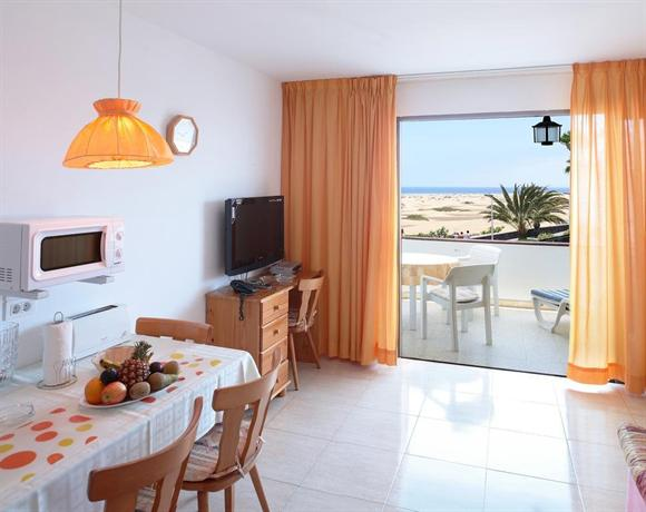 Apartament Don Palomon, widok na Maspalomas